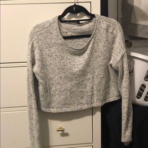 Crop sweater